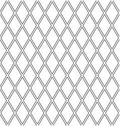 seamless diamonds latticed pattern vector image