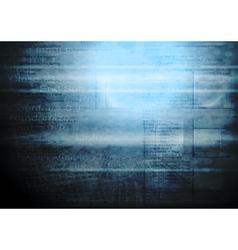 Grunge hi-tech backdrop vector