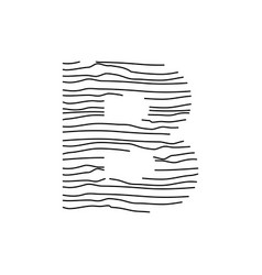 Abstract line initial b vector