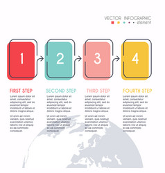 info graphics for your business presentations can vector image