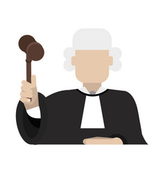 law and justice icon image vector image