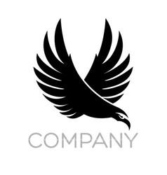 modern eagle logo vector image