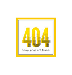 Sorry page not found vector
