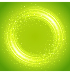 Abstract light ring vector image vector image