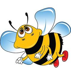 Bumble bee cartoon vector
