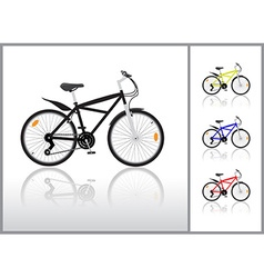 Bycicle vector image