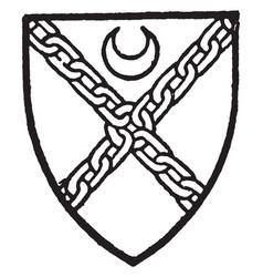 Elwett yorke chyre in a 15th-century roll vector