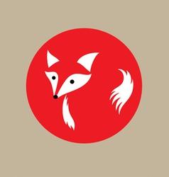 Fox silhouette vector