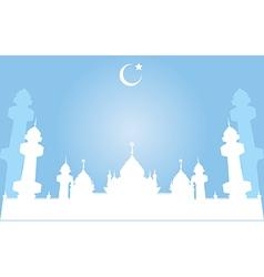 Jamiah Mosque in Pattani Thailand vector