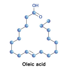 Oleic fatty acid vector