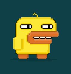 Pixel Duck vector