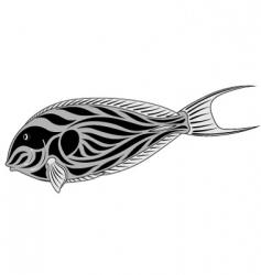 surgeon fish vector image