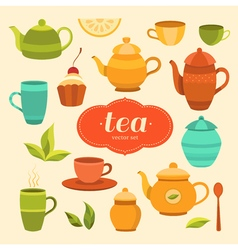 tea11 vector image