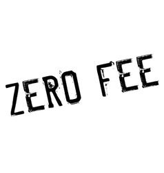 Zero fee stamp vector