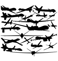drones vector image