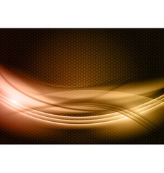 abstract background gold color vector image vector image