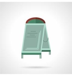 Sandwich board flat icon vector image
