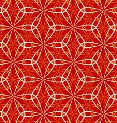Seamless flower dance pattern vector image vector image
