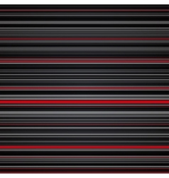 Abstract striped red and grey background vector image vector image