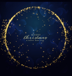 Awesome glitter sparkle background for christmas vector