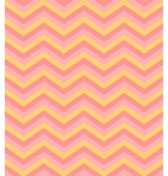 Beige pink chevron seamless pattern background vector image