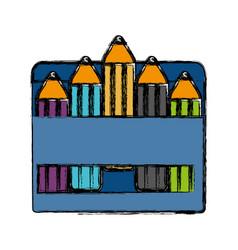colors box icon vector image
