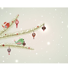 Cute Christmas Background vector