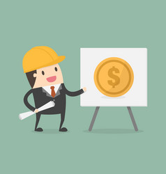 financial engineering vector image
