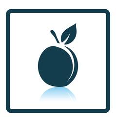 Icon of Peach vector