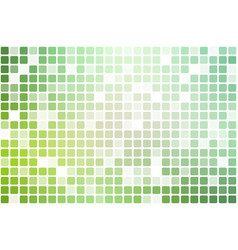 Light green shades occasional opacity mosaic over vector