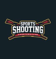 modern professional logo emblem sport vector image