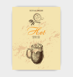 Sketch - coffee vector