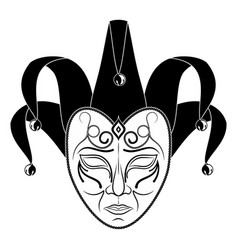 Theatrical mask 10 vector