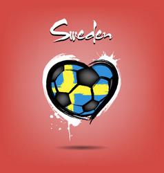 4527 - denmark heart soccer vector