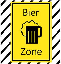 Bier zone vector
