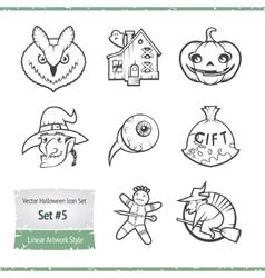 Halloween Icon Set vector