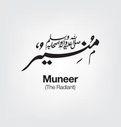 Muneer vector