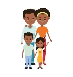 Parents and kids icon Family design vector