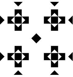seamless monochromatic geometric pattern or vector image