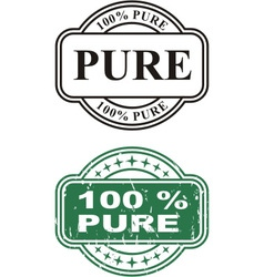 Stamp Pure vector