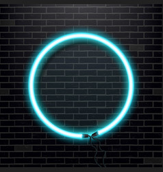 creative of neon lamp sign vector image