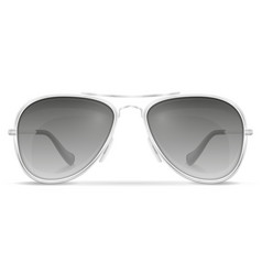 sunglasses for men in metal frames stock vector image vector image