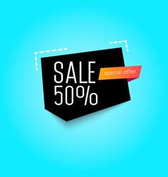 big sale banner special offer raster version vector image
