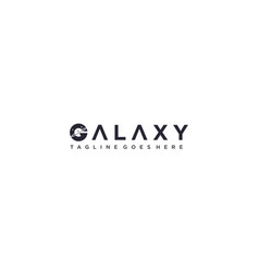 Creative and abstract galaxy for solar system vector