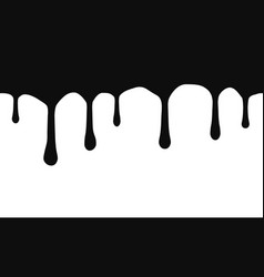 current drops current inks paint dripping vector image