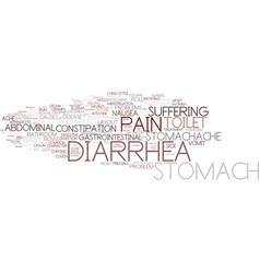 Diarrhea word cloud concept vector