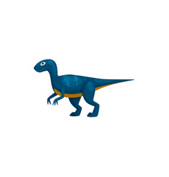 Dinosaur t-rex isolated prehistoric cartoon animal vector