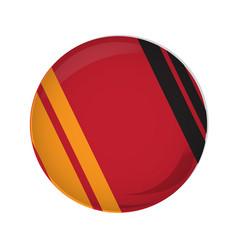 empty german campaign button vector image