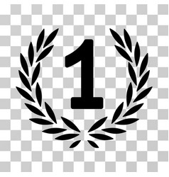 first laurel wreath icon vector image