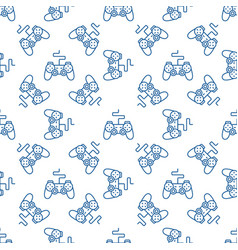 gamepad pattern joystick seamless vector image